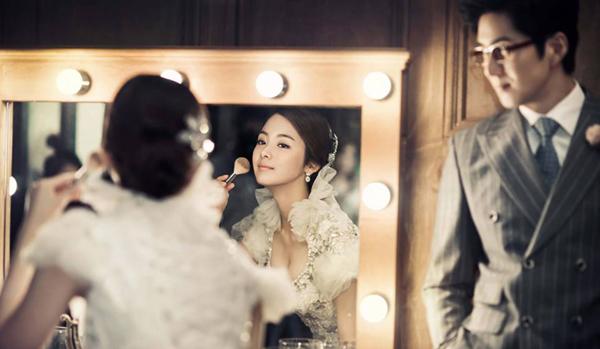 Chụp ảnh cưới theo phong cách Hàn