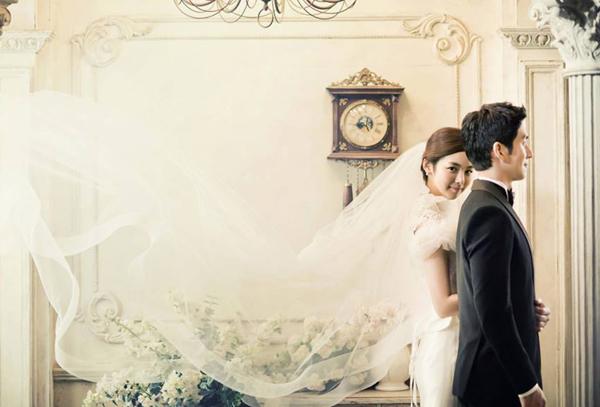 Chụp ảnh cưới theo phong cách Hàn 2